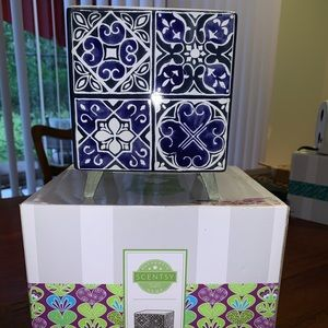 Scentsy indigo tile